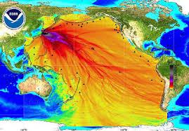mar contaminado de japón
