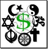 religiones y dinero